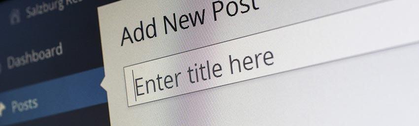 urejanje spletne strani wordpress